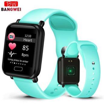 LIGE 2019 New Men Smart Watch Women Fitness Tracker Smart Wristband Heart Rate Blood Pressure Monitor Smart Bracelet Sport watch