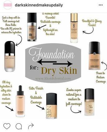 Dry skin foundation #Foundation