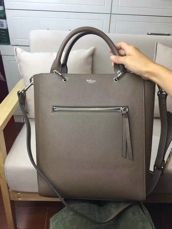 02b5121d44a7 2017 Spring Mulberry Small Maple Tote Bag Clay Natural Grain Leather