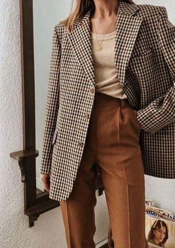 30+ Stylish Ways to Wear Oversized Blazer This Fall