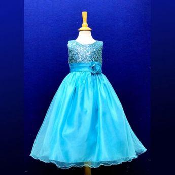 629fa7e875b Παιδικό Φόρεμα, Πανέμορφο, Μακρύ για Παρανυφάκι - Πάρτυ με