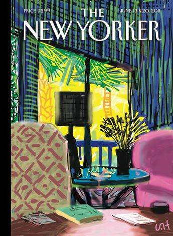 David Hockney: 'The New Yorker' June 13 & 20, 2011 More More