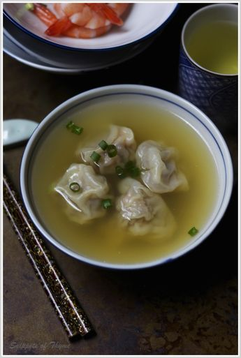Won Ton Soup...for Chinese New Year