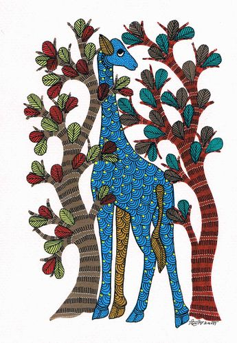 Dilip Shyam   Touch the GOND