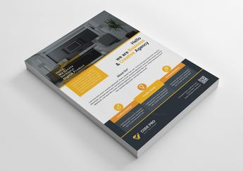 Interior Design Business Flyer Template - Graphic Templates