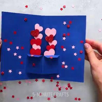 Handmade pop up cards