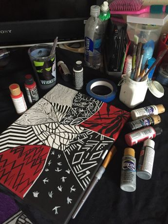 blurryface canvas *credit to person who made it- I found it on Tumblr*