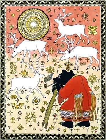 çizgili masallar: Folktales of the Amur by Gennady Pavlishin