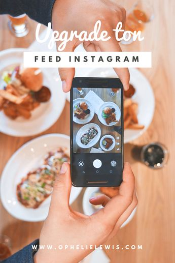 UPGRADE TON FEED INSTAGRAM