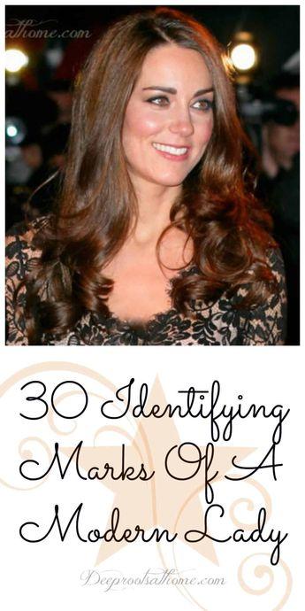30 Identifying Marks Of A Modern Lady