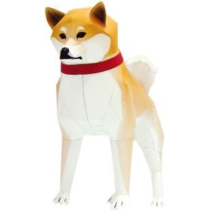 Shiba,Animals,Paper Craft,Asia / Oceania,Japan,brown,Mammals ,Animals,dog,Paper Craft