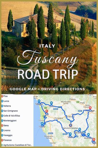 Perfect Tuscany Road Trip Itinerary: The Best of Tuscany