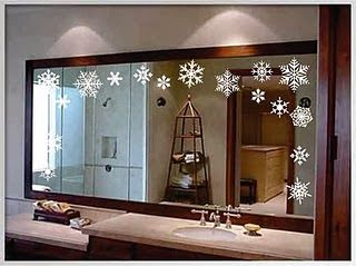 Changing Seasons: Easy Winter Holiday Bathroom Decor