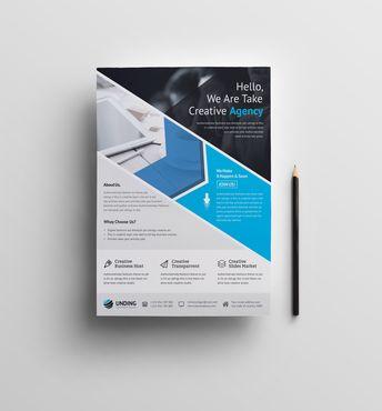 Andromeda Elegant Premium Business Flyer Template - Graphic Templates
