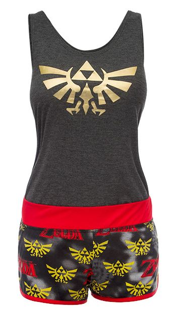 Most Popular! Legend of Zelda Tanks and Shorts Set