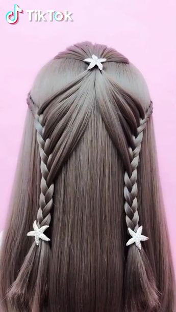 Super easy to try a new #hairstyle ! Download #TikTok today to find more amazing videos. Also you can post videos to show your unique hair styles! Life's moving fast, so make every second count. #hair #beauty #diy #braids