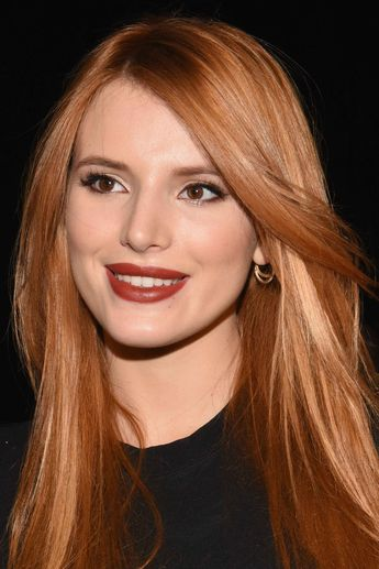 Celebrity Makeup Looks: Brick-Red Lipstick, Cat Eyes and More