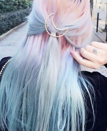 Couleurs de cheveux bleus Ombre pour 2017