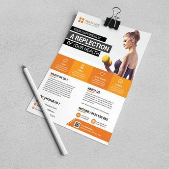 Louisville Modern Business Flyer Design Template - Graphic Templates
