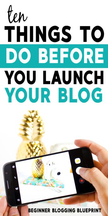 if you're thinking about launching a blog there are a ton of things you MUST do before you launch so you don't miss any important steps #blog #startablog #blogging