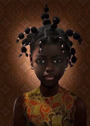 Lush portraits by Ruud van Empel – in pictures