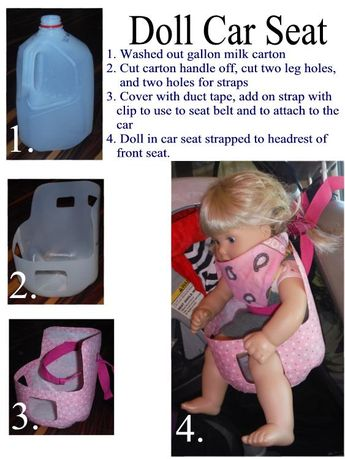 A Doll Car Seat Will Fit 15 And 18 Inch Dolls It Might