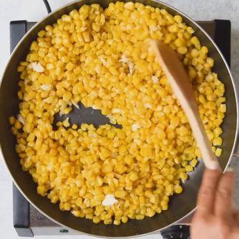 One Pot Cheesy Creamed Corn