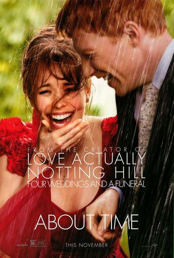 About Time 27x40 Movie Poster (2013)