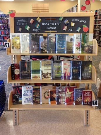 September 2015 book display