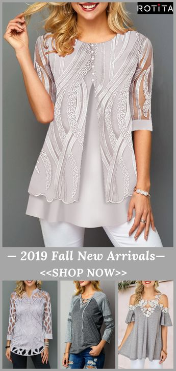 Fall New Tops are under $40.Liven Up Your Early Fall Capsule Wardrobe?Join Rotita,share you with charming.Free Shipping & Easy Return.#rotita#womensfashion#falloutfits#fallfashion#blouse#falltops