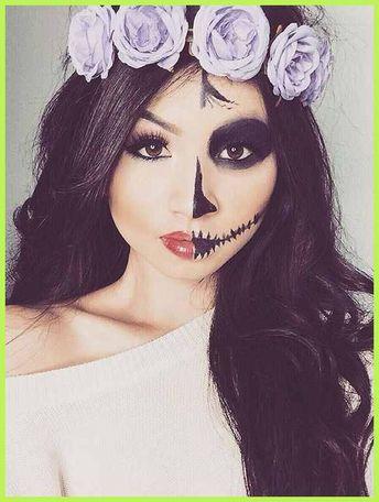 Split Personality - DIY Halloween Makeup Trends | Halloween ... | Makeup Trends