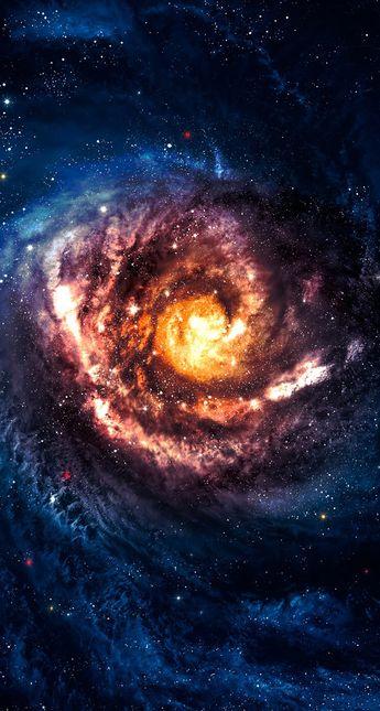 O núcleo de uma galáxia, de tão bonito chega a ser assustador !!!!!!