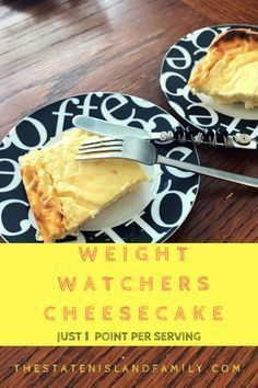 Weight Watchers Cheesecake only 1 point