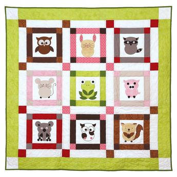 082e5a414 Talk To The Animals Baby Quilt Pattern
