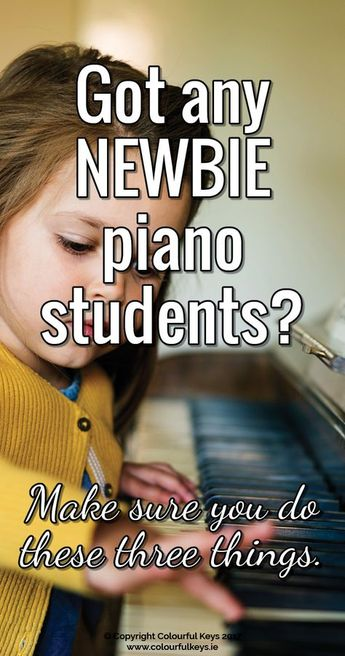 How to Transform Your New Piano Student into September Superstars - Colourful Keys
