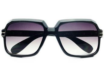 6e3343e77e6e Celebrity Retro Vintage Large Square Aviator Sunglasses Shades A26