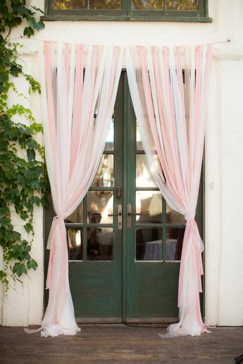 Tulle Backdrop Curtains, Wedding backdrop, Bridal Shower Backdrop, Birthday Backdrop, Romantic Handm