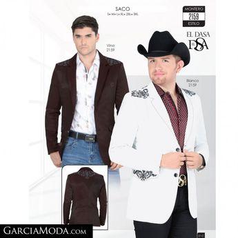 7405af313a Saco Lamasini Western Wear 467 Negro y Teal