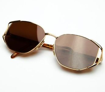 cf18e5f524 Cartier Rivoli Vendome 54mm Cat Eye Sunglasses 18k Heavy Pl
