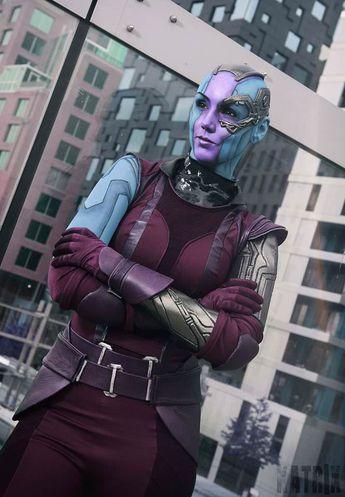 Nebula cosplay by Karin Olava