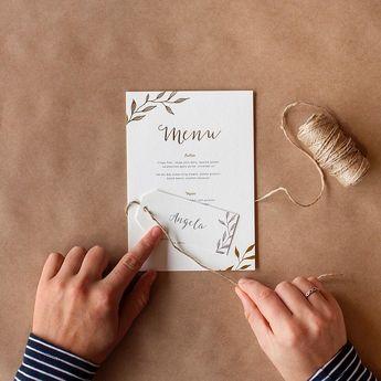 Leaves - Invitations