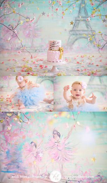 Grace's springtime in #Paris themed #cakesmash