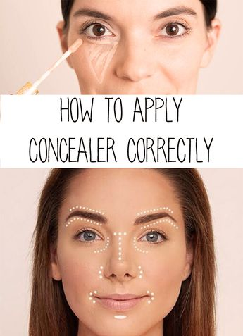 How to Apply Concealer Correctly
