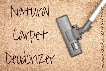 Natural Carpet Deodorizer