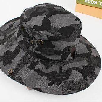 e215c8a18b4 Wide Brim 4 Different Camo Sun Hats
