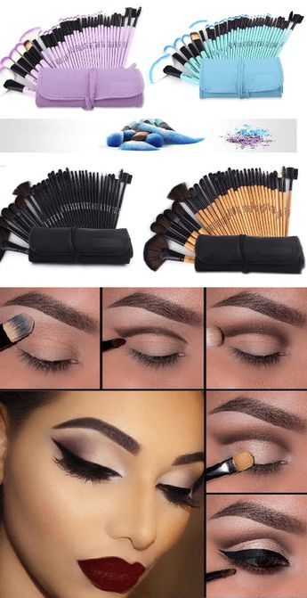 Professional Soft Make up Brushes - 20 Pcs Set