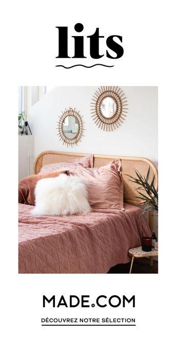 Choix de matières, de finitions, avec ou sans rangement, retrouvez nos créations exclusives de lits design.