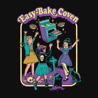 Easy Bake Coven Ladies Tee