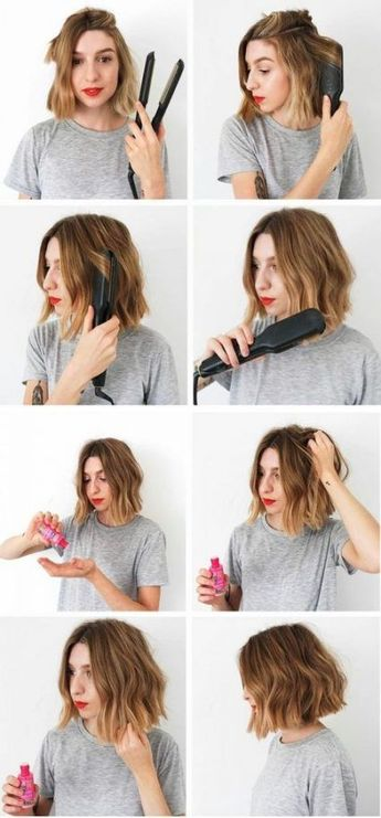 Hairstyles messy short waves 18+ ideas