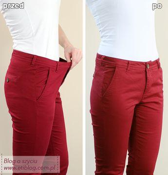b3c1300b6a9a5 Jak dopasować za duże spodnie w pasie - eti blog o szyciu